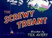 The Screwy Truant Cartoon Character Picture