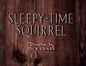 Sleepy-Time Squirrel Cartoon Character Picture