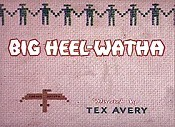 Big Heel-Watha Cartoon Character Picture