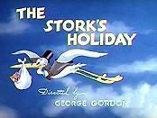 The Stork's Holiday Picture To Cartoon