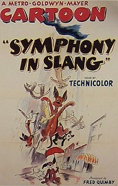 Symphony In Slang Cartoon Character Picture