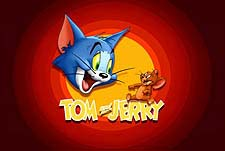 Tom and Jerry Theatrical Cartoon Series Logo