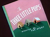 The Three Little Pups Cartoon Picture
