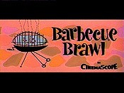 Barbecue Brawl Cartoon Character Picture