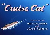 Cruise Cat Cartoon Picture
