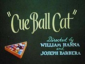 Cue Ball Cat Cartoon Picture