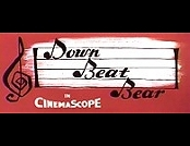 Down Beat Bear Cartoon Character Picture