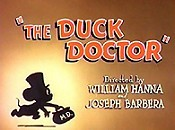 The Duck Doctor Picture Into Cartoon