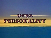 Duel Personality Picture Of The Cartoon