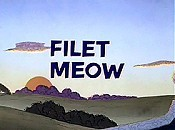 Filet Meow Cartoon Character Picture