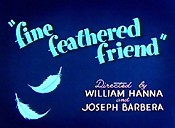 Fine Feathered Friend Cartoon Picture