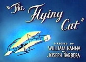 The Flying Cat Picture Into Cartoon