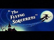 The Flying Sorceress Cartoon Character Picture