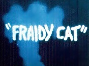 Fraidy Cat Picture Into Cartoon