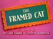 The Framed Cat Cartoon Picture