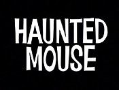 Haunted Mouse Cartoon Character Picture