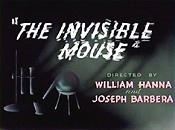 The Invisible Mouse Free Cartoon Pictures