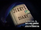 Jerry's Diary Picture Into Cartoon
