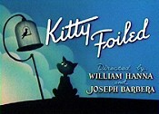 Kitty Foiled Cartoon Picture