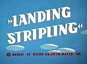 Landing Stripling Cartoon Picture