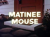 Matinee Mouse Picture Of Cartoon