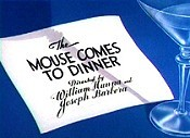 The Mouse Comes To Dinner Cartoon Picture