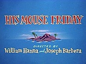 His Mouse Friday Cartoon Picture