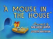 A Mouse In The House Cartoon Picture