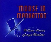 Mouse In Manhattan Free Cartoon Picture