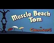 Muscle Beach Tom Cartoon Picture