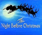 The Night Before Christmas Free Cartoon Picture