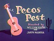 Pecos Pest Cartoon Character Picture