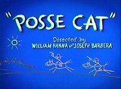 Posse Cat Cartoon Character Picture