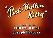 Push-Button Kitty Cartoon Picture
