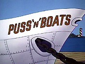Puss 'N' Boats Cartoon Character Picture