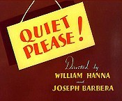 Quiet Please! The Cartoon Pictures