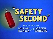 Safety Second Cartoon Picture