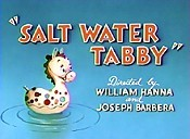 Salt Water Tabby Cartoon Picture