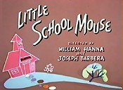 Little School Mouse Cartoon Picture