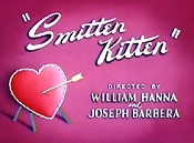 Smitten Kitten Cartoon Picture