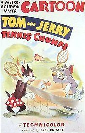 Tennis Chumps Cartoon Funny Pictures
