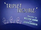 Triplet Trouble Cartoon Picture