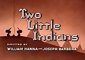 Two Little Indians Cartoon Picture
