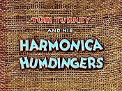 Tom Turkey And His Harmonica Humdingers Cartoon Picture