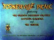 Toonerville Picnic Picture Into Cartoon