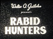 Rabid Hunters Free Cartoon Picture