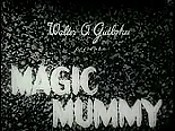 The Magic Mummy Cartoon Pictures