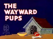 The Wayward Pups Cartoon Picture