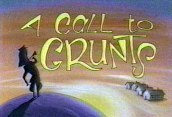 A Call To Grunts Cartoon Picture