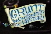 Grunt Moments In History Free Cartoon Picture